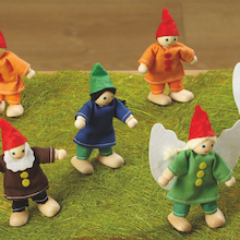 Small World Woodland Fairies and Elves 10pcs  medium