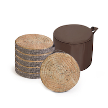 Tree Bark Carry Cushions  medium