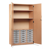 Cupboard with 21 Shallow Trays  small