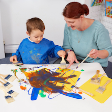 Alice Sharp's Messy Play Parent Take Home Bags  medium