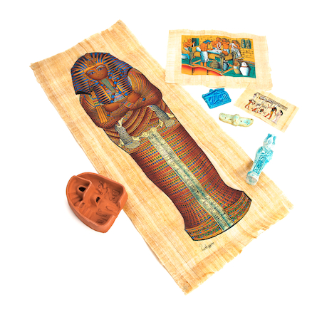 Egyptian Death Ritual Artefacts Collection  large