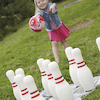 Super Soft Foam Bowling Set 10 Pins and 20cm Ball  small