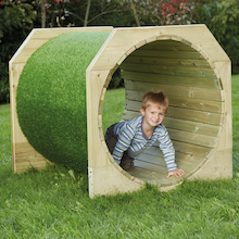 Outdoor Wooden Tunnels  medium