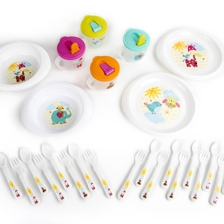 Patchwork Friends Character Dinnerware Range  large
