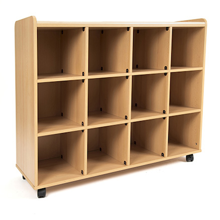 Maths Area Self Access Shelves Unit  large