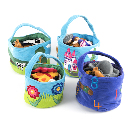 Time to Talk Role Play Baskets Special Offer 2  large