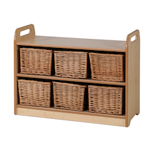 Millhouse Shelf With Back H66 x 90cm  medium