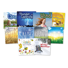 Weather Types Book Pack KS1 10pk  medium