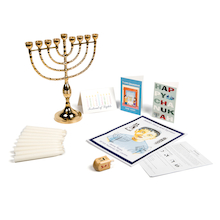 Jewish Hanukkah Festival Artefacts  medium