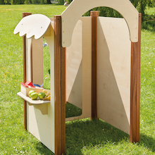 Outdoor Wooden Role Play Shop Panels  medium