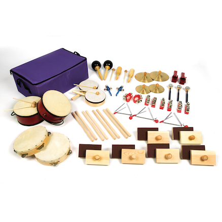 Class Percussion Instruments 35 Players  large