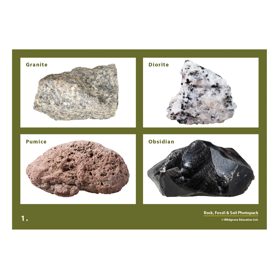 Buy rocks soils and fossils photopack tts for Rocks and soil information