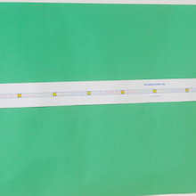 Dry Wipe Plastic Rounding Number Line  medium