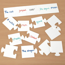 Jigsaw Sentence Whiteboards  medium
