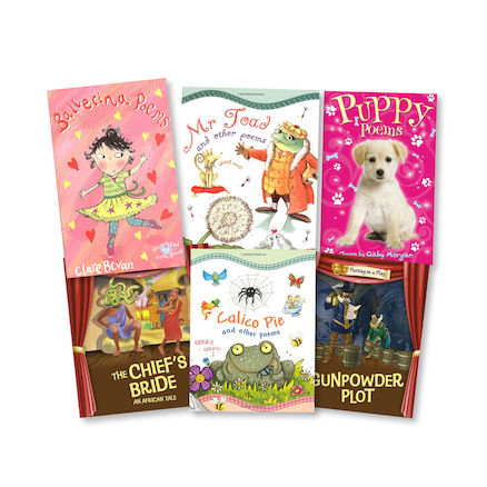 Poetry and Plays Guided Reading Books 36pk  large