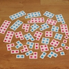 Coloured Spot Number Frames to 10 40pcs  small