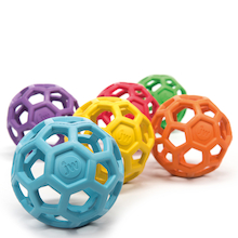 Flexigrab Rubber Balls 6pk  medium