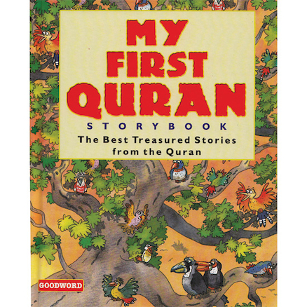 Child Friendly Illustrated Quran Stories Book  large