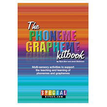 The Phoneme Grapheme Activity Kitbook  medium