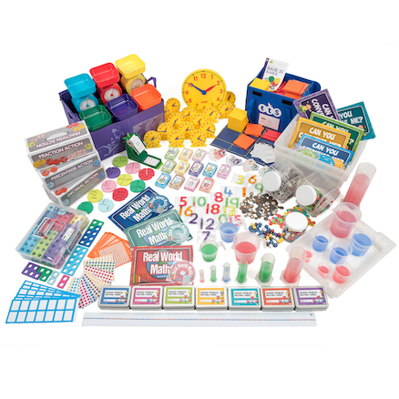 Discovering Number, Money and Measure Mega Kit  large