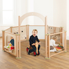 Freestanding Toddler Wooden Panels  small