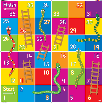 Bee\-Bot® Snakes and Ladders Mat  large