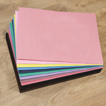 Assorted A2 Sugar Paper Stack 1250pk  large