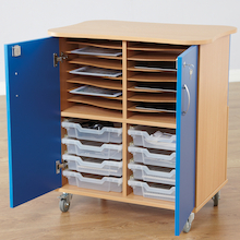 16 Way Charge and Sync Tablet Storage Cupboard  medium