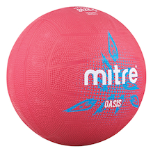 Mitre Oasis Rubber Training Netball Size 4  medium