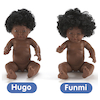 Hard Bodied Multicultural Dolls  small