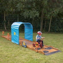 Outdoor Trike Obstacle Course  medium