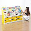Valencia Classroom Furniture Set Yellow SH350mm  small