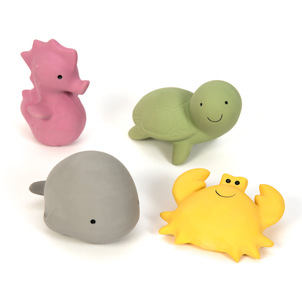 Pure Natural Rubber Small World Sea Animals  large