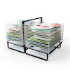30 Shelf Spring Loaded Drying Rack  small