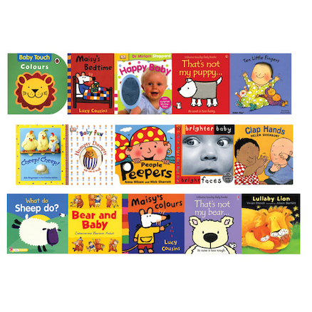 Baby Books 15pk  large
