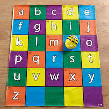 Bee-Bot® and Blue-Bot Alphabet Mat  medium