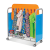 32 Hook Metal Cloakroom Trolley  small