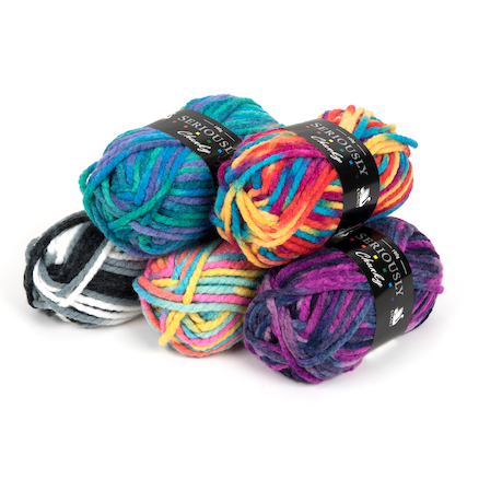 Super Chunky Knitting Yarn 5pk  large