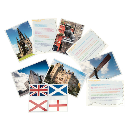 Thinking...The United Kingdom Cards  large
