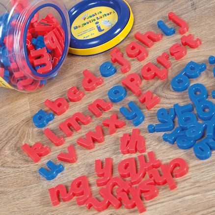 Jolly Phonics Magnetic Letters (tub of 106)  large