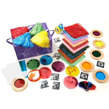 Light and Colour Grab and Go Kit 55pcs  large