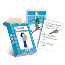 Flip-It Memory Comprehension Cards  medium