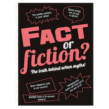 Fact or Fiction? Hardback Book  medium