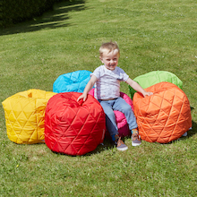 Toddler Quilted Beanbags 6pk  medium