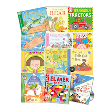 KS1 Audio Fiction Books and CDs 12pk  medium