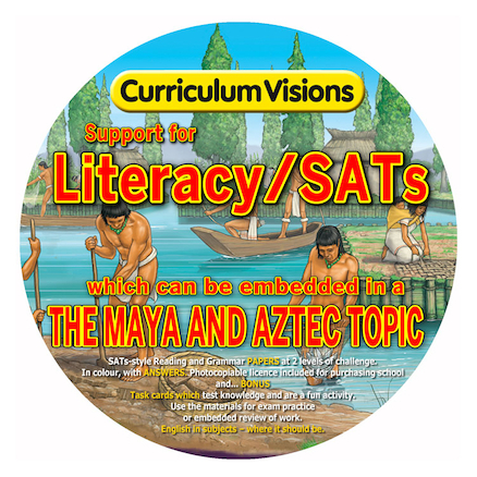 Literacy\/SATs Topic CD The Mayans and Aztecs  large