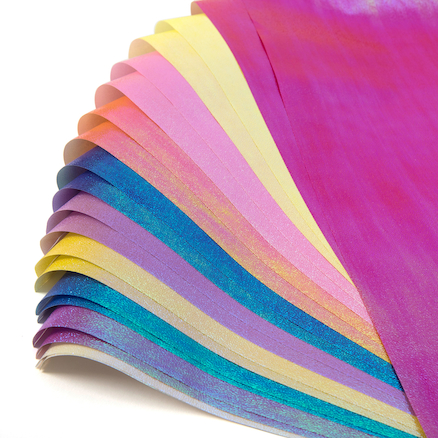 Iridescent Paper Pack 70 x 50cm 20pk  large