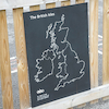 British Isles Outdoor Chalkboard  small