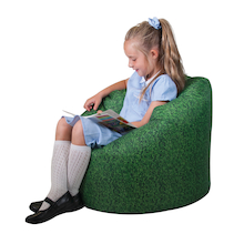 Grass Printed Children's Bean Bag  medium