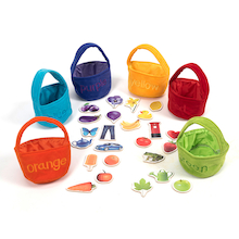 Colour Sorting Shopping Bags and Objects   medium
